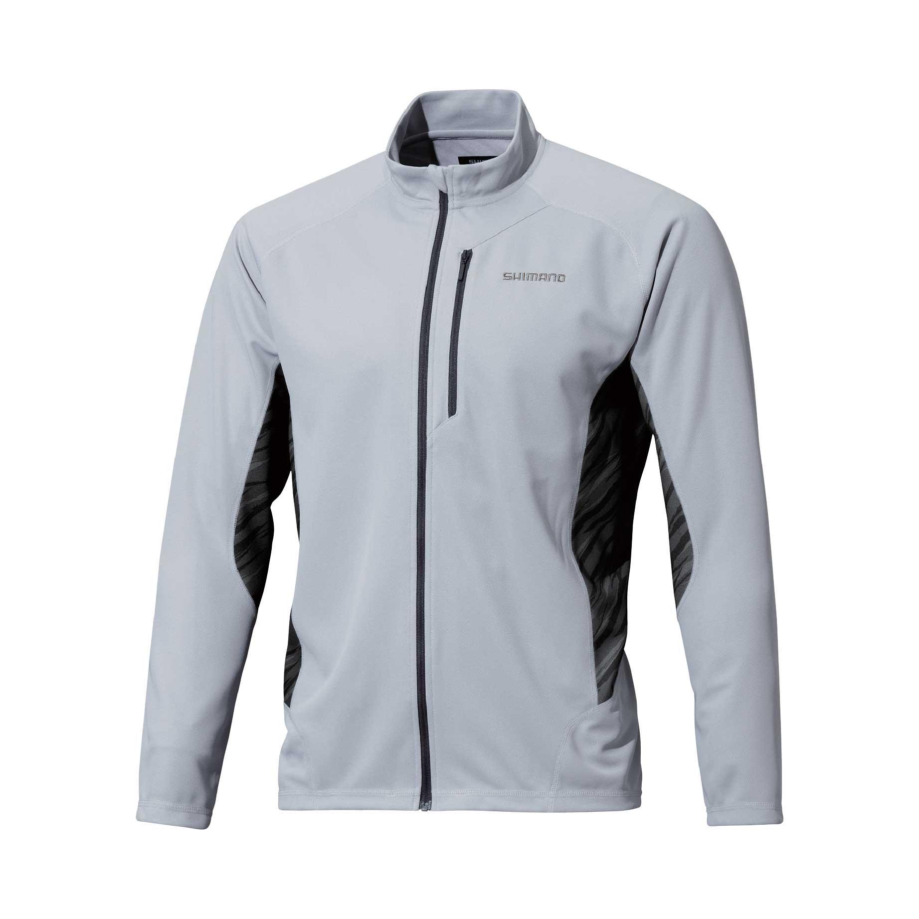 Sh 090n shimano black long sleeve shirt oftpancing for Shimano fishing shirts