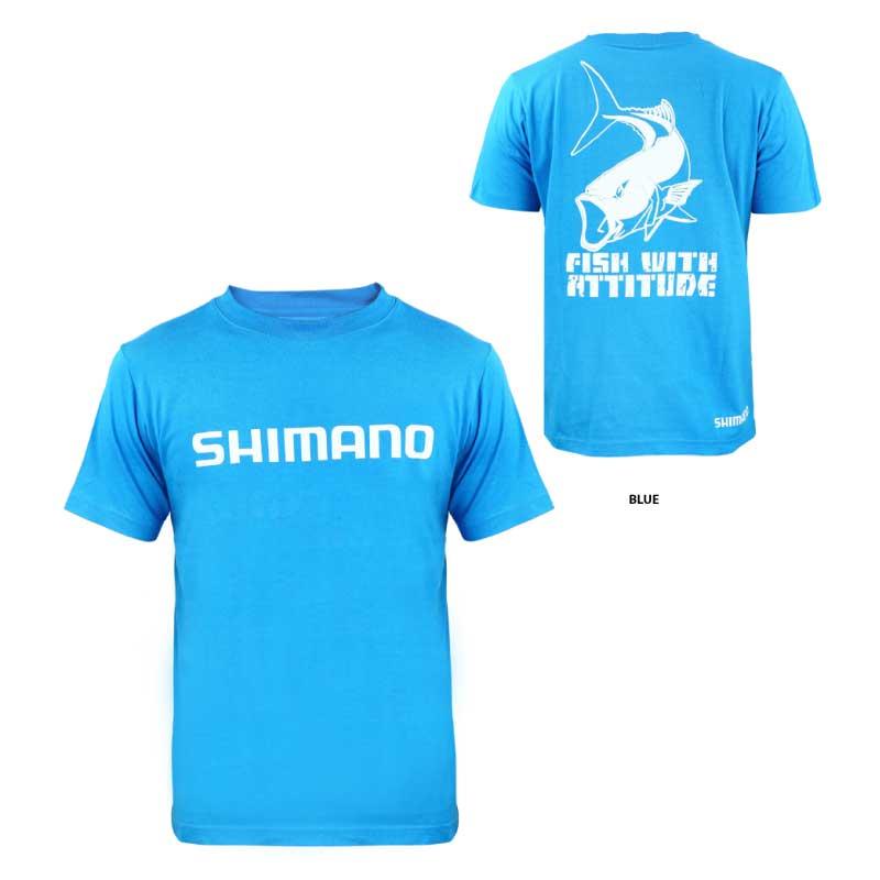 Shimano kingfish atitude t shirt oftpancing your for Shimano fishing shirts